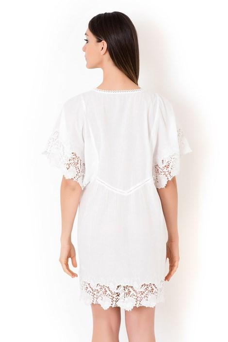Dámske talianske letné šaty Iconique IC8013 White  969fa44564a