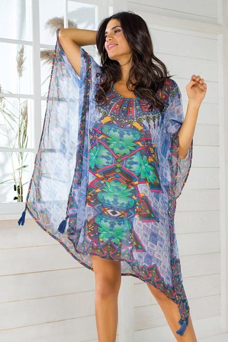 Dámske talianske plážové šaty Iconique IC8109