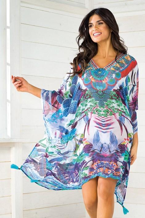 Dámske talianske plážové šaty Iconique IC8110