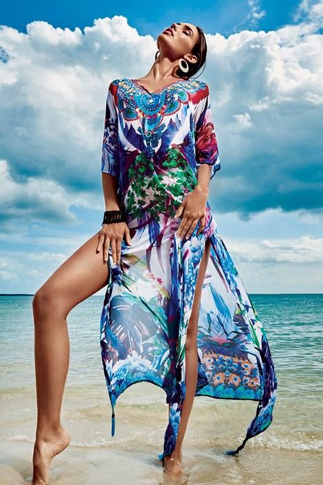Dámske talianske plážové šaty Iconique IC8111