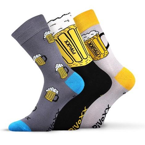 3pack ponožiek PiVoXX