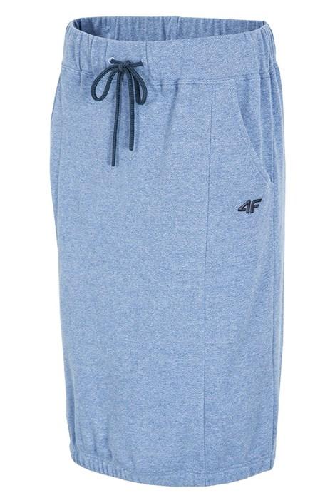 Dámska športová sukňa 4f Blue melange