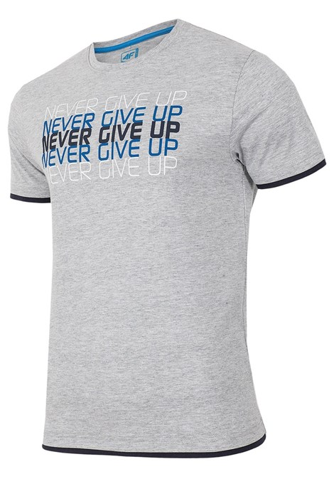 Pánske tričko 4F Never Give Up 100% bavlna