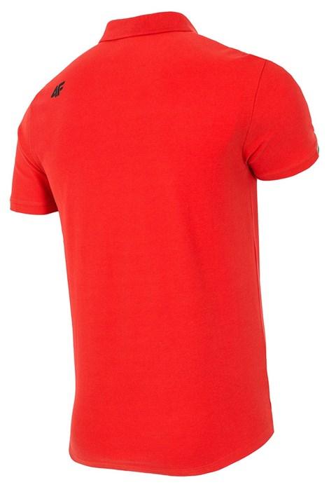 Pánske polotričko 4F Red 100% bavlna