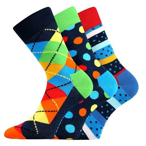 3pack módnych ponožiek Woodoo MixA