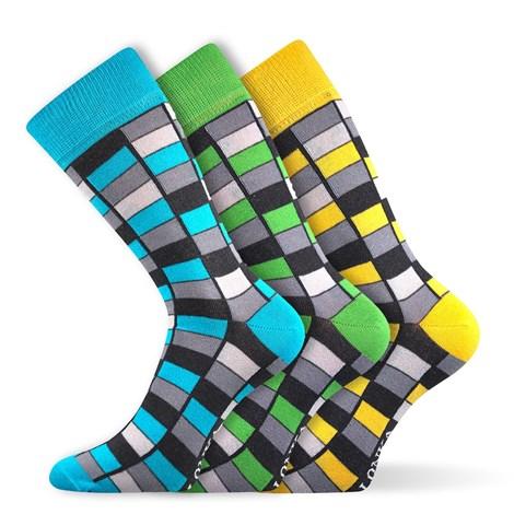 3pack módnych ponožiek Woodoo MixG