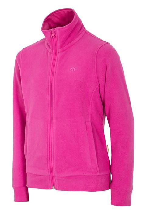 Dievčenská fleecová mikina Pink 4f