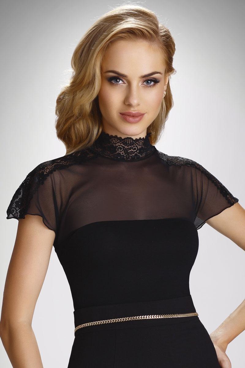 Dámske elegantné tričko s čipkou Daria  b60184b7708