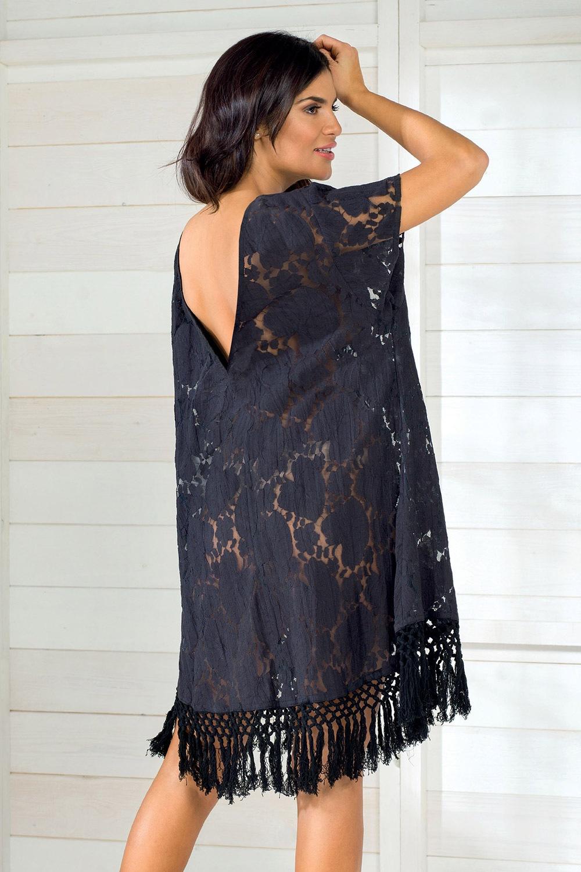 c4154ae3ca Dámske letné šaty talianskej značky Iconique IC8011 Black