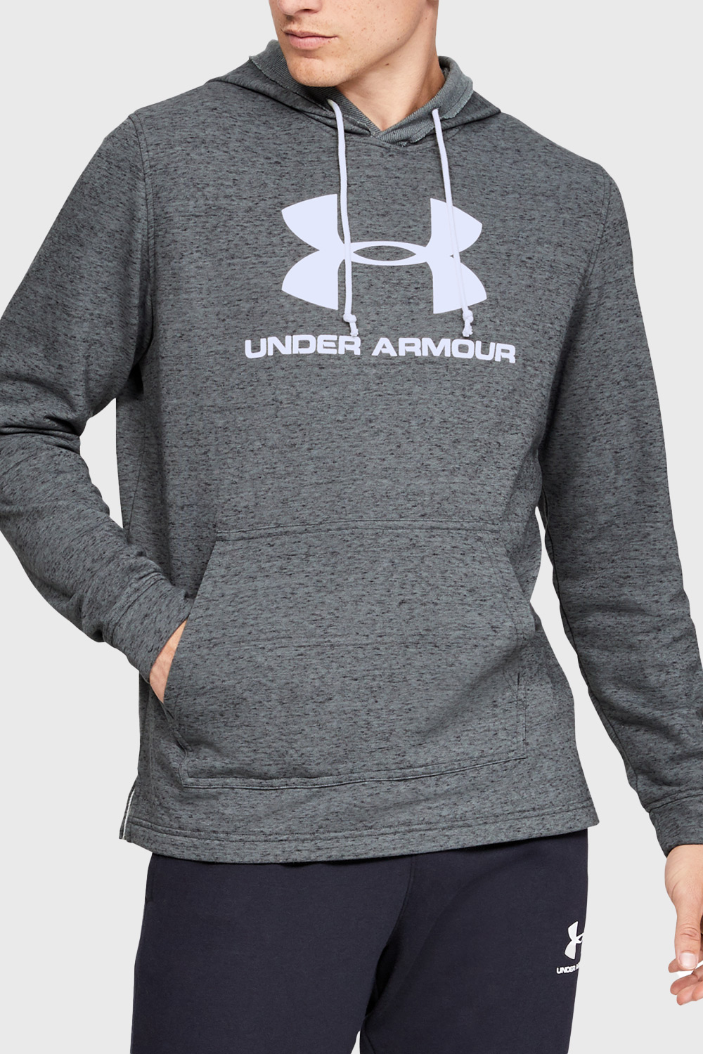Sivá mikina Under Armour Sportstyle Terry