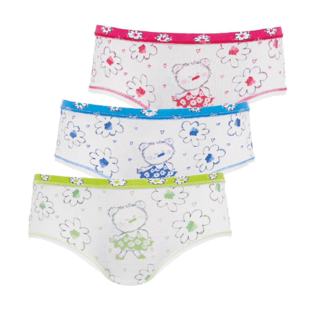 8299db4cf 3 pack dievčenských nohavičiek Flower E-shop >>