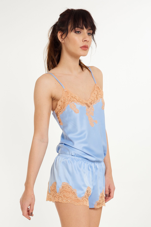 468a01473 Dámske pyžamové šortky Marina