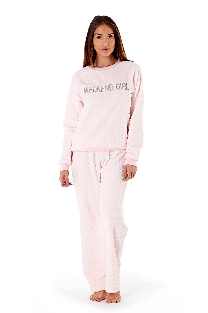 Dámske pyžamo Weekend Girl Pink