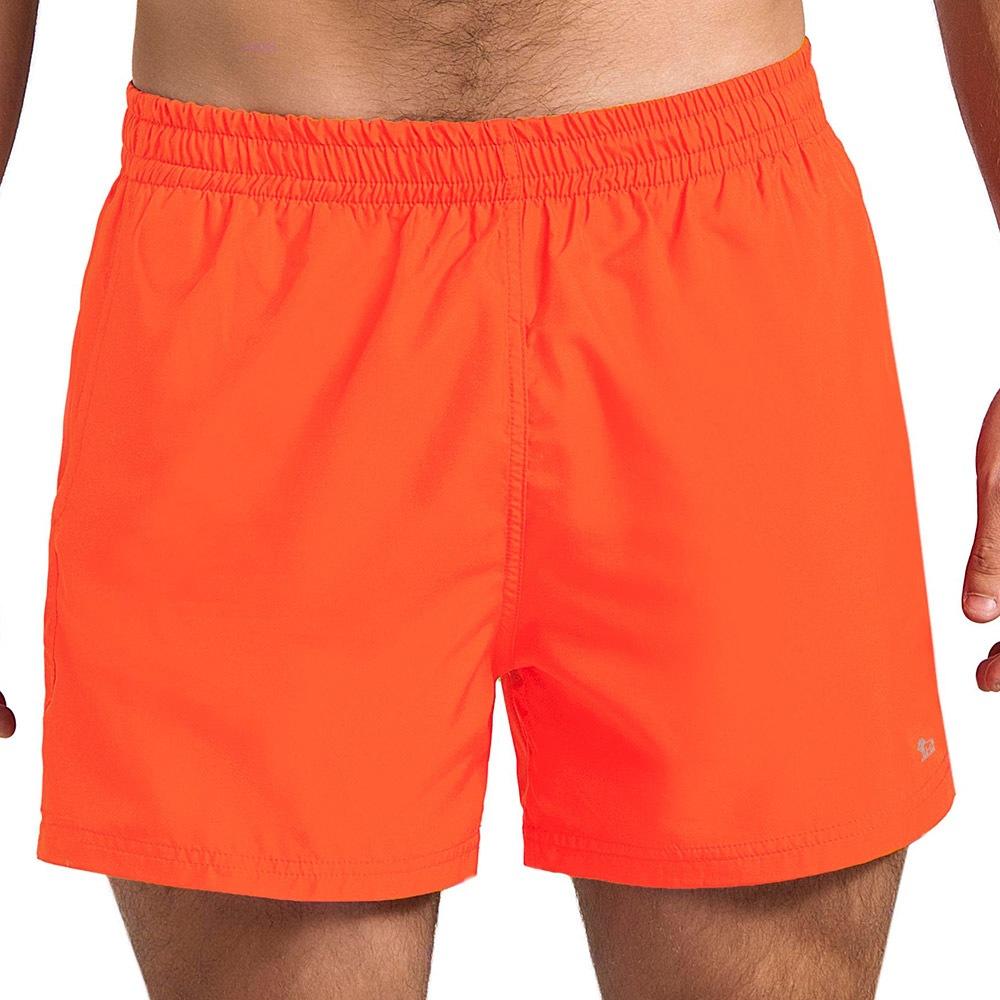 f5b7d259a966 Pánske kúpacie šortky ANPORE Neon oranžové
