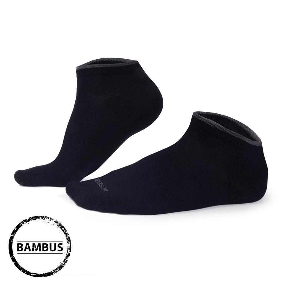 Bambusové ponožky Eloi nízké tmavomodré