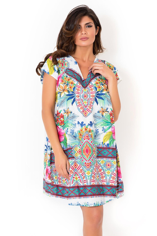 14f4a8bf81 Dámske talianske plážové šaty kolekcie David Beachwear Rajasthan