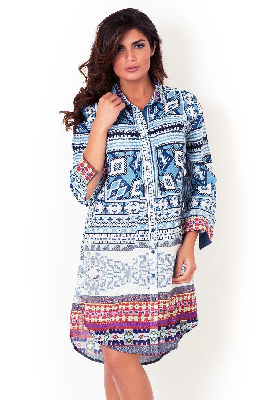 64a2529b59bc Dámske talianské košeľové šaty David Beachwear Gujarat