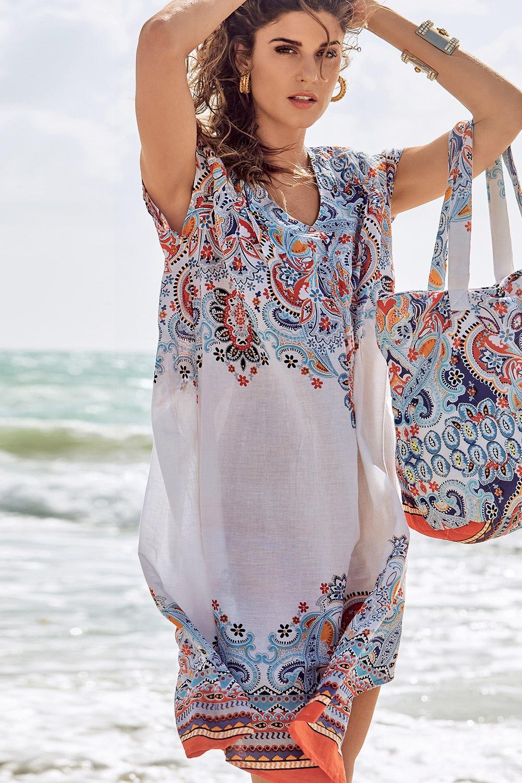 af850f366326 Dámske talianské letné šaty David Beachwear Jaipur