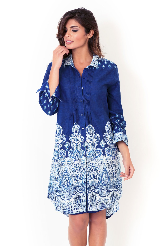 6f6a5911d656 Dámske talianske košeľové šaty David Beachwear kolekcie Kerala