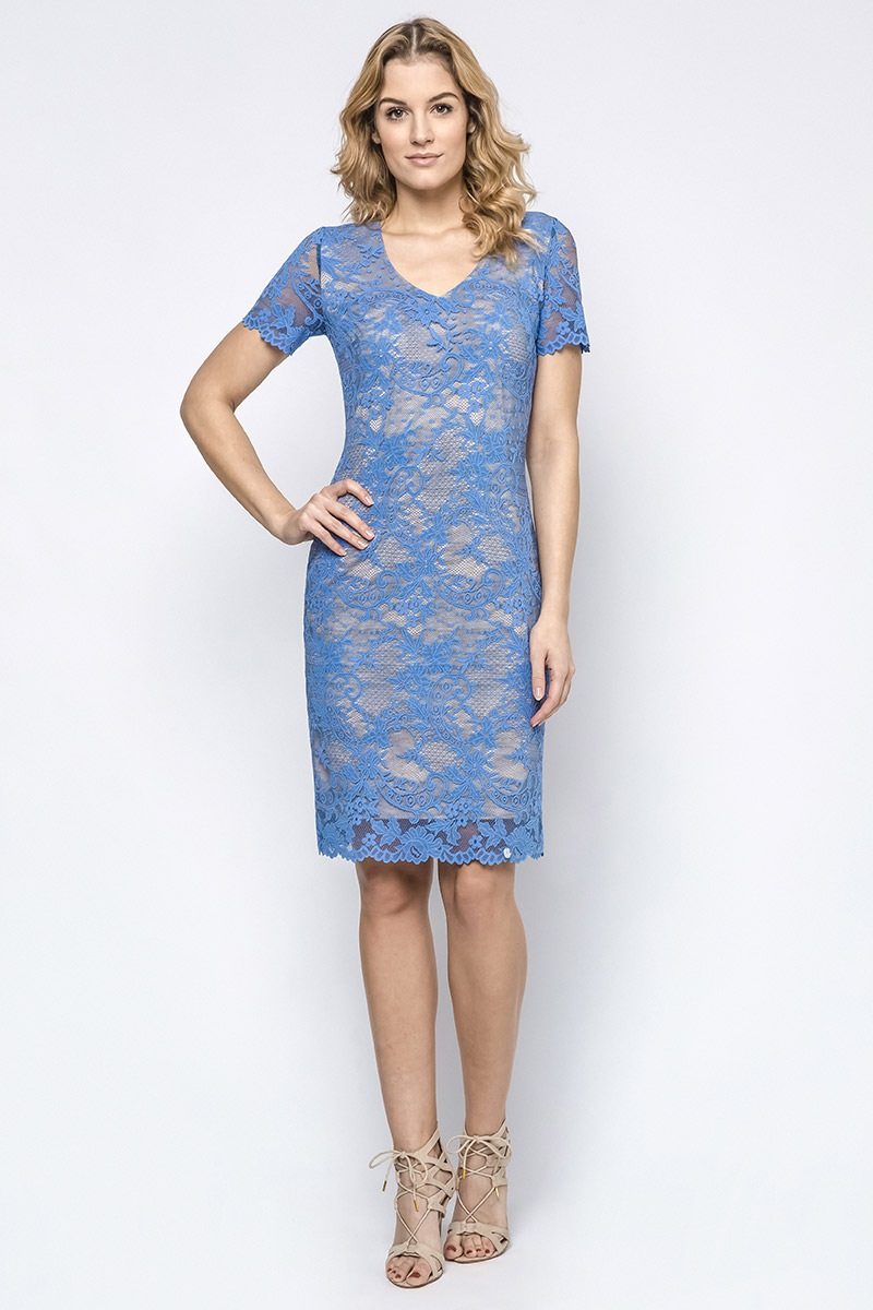 Dámske luxusné čipkované šaty Susanne 731defa24ae