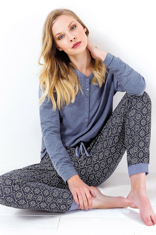 f745c61cb Dámske pyžamo Charlotte melange