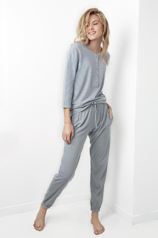 Dámske pyžamo Juliet sivé 9043b0c9aad