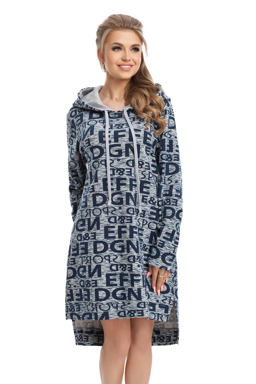 13c00222791a Domáce mikinové šaty Emma