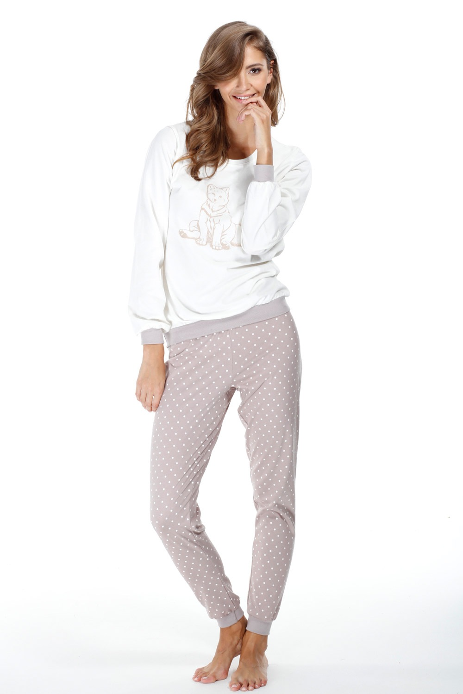 Dámske bavlnené pyžamo Foxy
