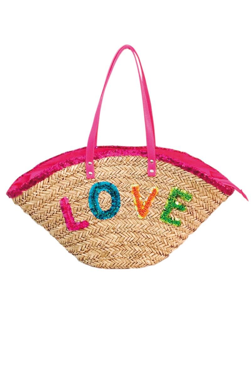 Plážová taška Funtext Love