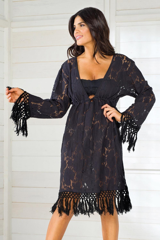 a10379385a5d Dámske talianske letné šaty Iconique IC8010 Black