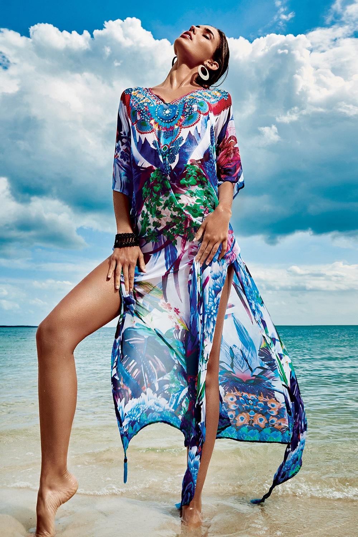 a40080fc3af1 Dámske talianske plážové šaty Iconique IC8111