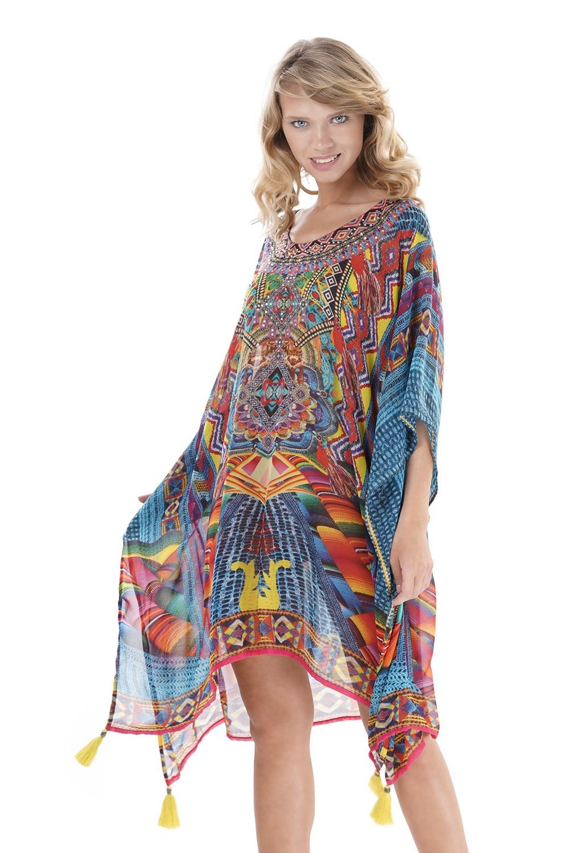 3f1b6af7b122 Dámske plážové šaty Irene II