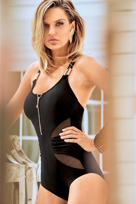 3d89afc7048c Dámske formujúce talianske jednodielne plavky Miradonna Minerva bez kostíc  e-shop