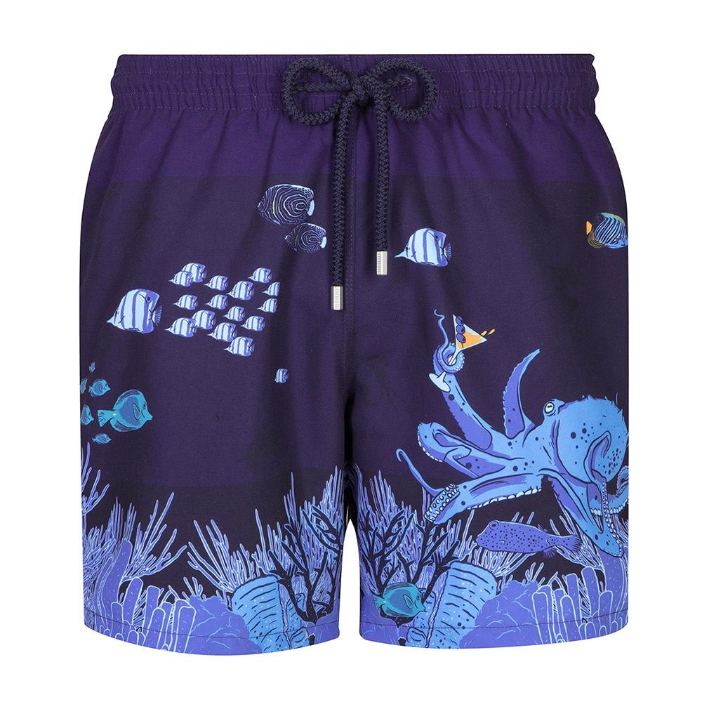 GRANADILLA Pánske kúpacie šortky GRANADILLA Ocean Life modrá M
