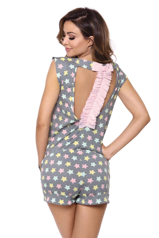 Dámske pyžamo Susane sivé
