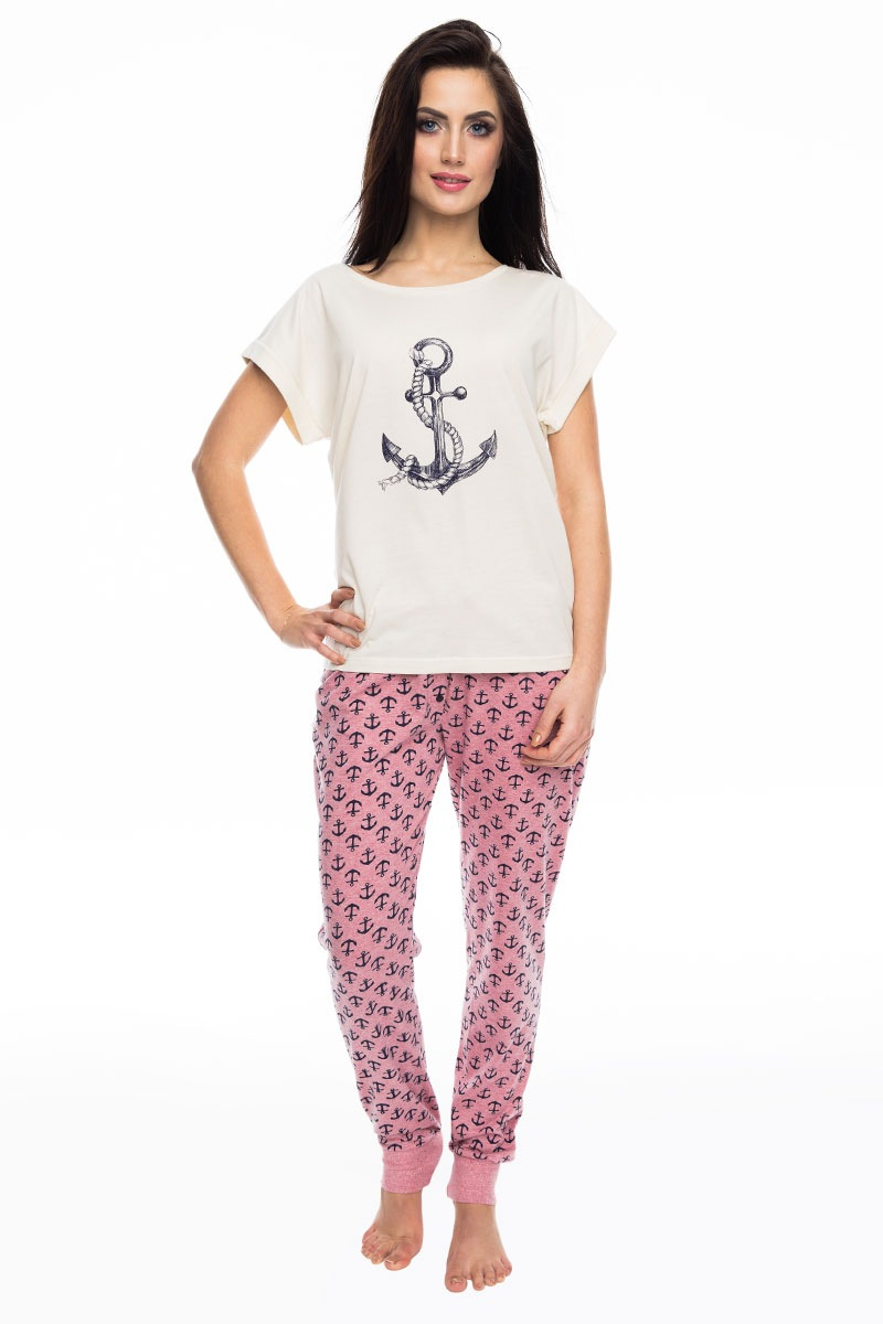 2071d5e0734b Saténové dámske pyžamo Petra eshop Irall